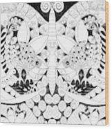 Metamorphosis Arrangement 1 Wood Print