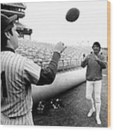 Mets Tom Seaver Warms Up Jets Joe Wood Print