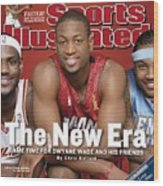 Miami Heat Dwyane Wade Sports Illustrated Cover Wood Print