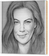 Michelle Monaghan Wood Print