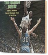 Michigan State Magic Johnson, 1979 Ncaa National Sports Illustrated Cover Wood Print
