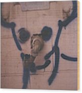 Mickey Wood Print