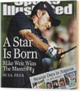 Mike Weir, 2003 Masters Sports Illustrated Cover Wood Print