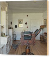 Milner Barbershop - Allensworth State Park Wood Print