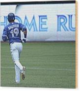 Milwaukee Brewers V Toronto Blue Jays Wood Print