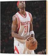 Milwaukee Bucks V Houston Rockets Wood Print