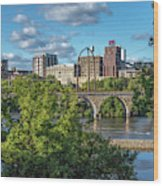 Minneapolis 03 Wood Print