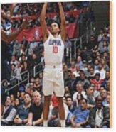 Minnesota Timberwolves V La Clippers Wood Print