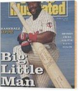 Minnesota Twins Kirby Puckett Sports Illustrated Cover Wood Print