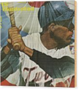 Minnesota Twins Zoilo Versalles, 1965 World Series Preview Sports Illustrated Cover Wood Print