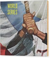 Minnesota Twins Zoilo Versalles Sports Illustrated Cover Wood Print