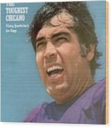 Minnesota Vikings Qb Joe Kapp Sports Illustrated Cover Wood Print