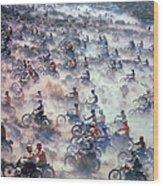 Mint 400 Motocross Race Wood Print