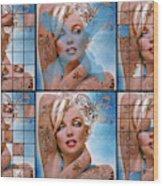 Mm Diva 127 Six Wood Print