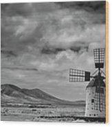 Molino De Cotillo Wood Print