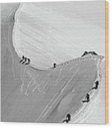 Mont Blanc Wood Print