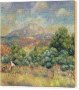 Mont Sainte-victoire, 1889 Wood Print