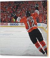 Montreal Canadiens V Philadelphia Wood Print