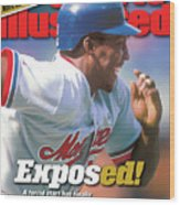 Montreal Expos Vladimir Guerrero... Sports Illustrated Cover Wood Print