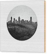 Montreal Skyline Caqcmo04 Wood Print