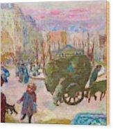 Morning In Paris - Digital Remastered Edition Wood Print