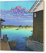 Morning In Yobuko, Hizen - Digital Remastered Edition Wood Print