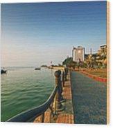 Morning Of Halong Bay Wood Print