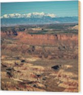 Morning Over Canyonlands Wood Print