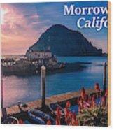 Morrow Bay California Wood Print