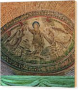 Mosaics Of Mausoleo Wood Print
