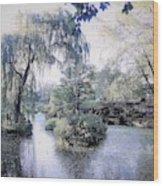 Mossy Lake Wood Print
