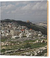 Mount Gerizim, Samaritan Community Wood Print