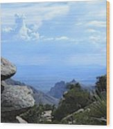 Mount Lemmon View Wood Print