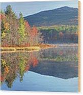 Mount Monadnock In Autumn Wood Print