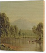 Mount Washington Wood Print