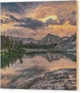 Mountain Beauty Wood Print