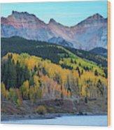 Mountain Trout Lake Wonder Wood Print
