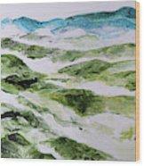 Mountains At Shenandoah 201849 Wood Print