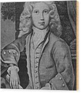 Mozart As Child Wood Print
