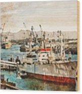 Ms Cap San Diego Wood Print
