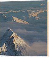Mt. Zugspitze 6 - Bavaria Germany Wood Print