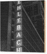 Muehlebach Hotel Kansas City Wood Print