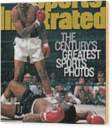Muhammad Ali, 1965 World Heavyweight Title Sports Illustrated Cover Wood Print