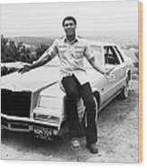 Muhammad Ali Car Wood Print