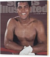 Muhammad Ali The Greatest Sports Illustrated Cover Wood Print