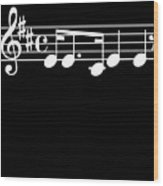 Music Notes Song Good Memory Musician Music Fan Gift Wood Print