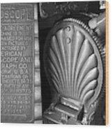 Mutoscope Fine Art Dual Image Wood Print