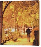 My Blurred World Wood Print