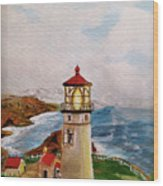 My Lighthouse Wood Print