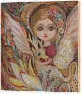 My Little Fairy Selma Wood Print